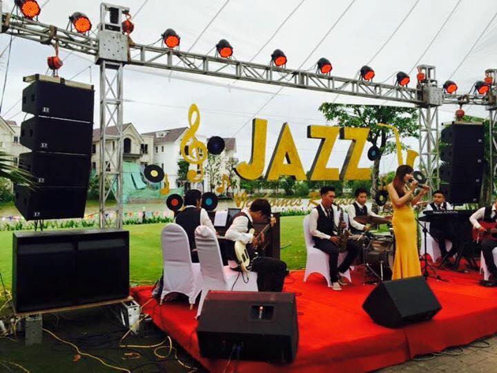 Cho thuê ban nhạc Jazz chuyên nghiệp